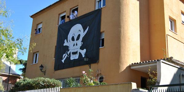 El Jara se viste de Pirata