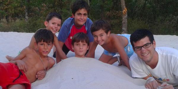 Minicampamento en Las Cabañas