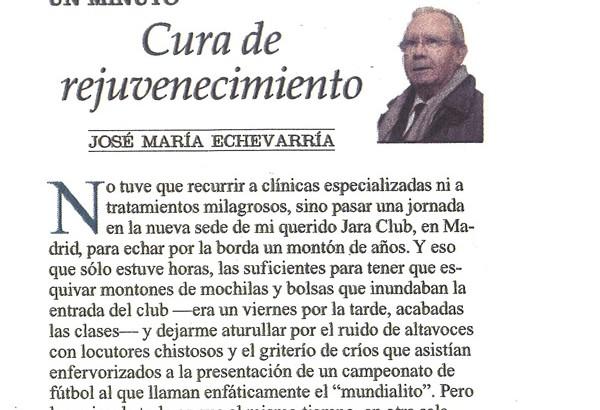 EL PRIMER DIRECTOR DEL JARA VUELVE…