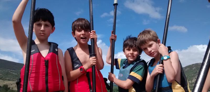 Los de 4 se apoderan del pantano de Lozoya