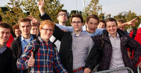 En la fiesta de valdebebas