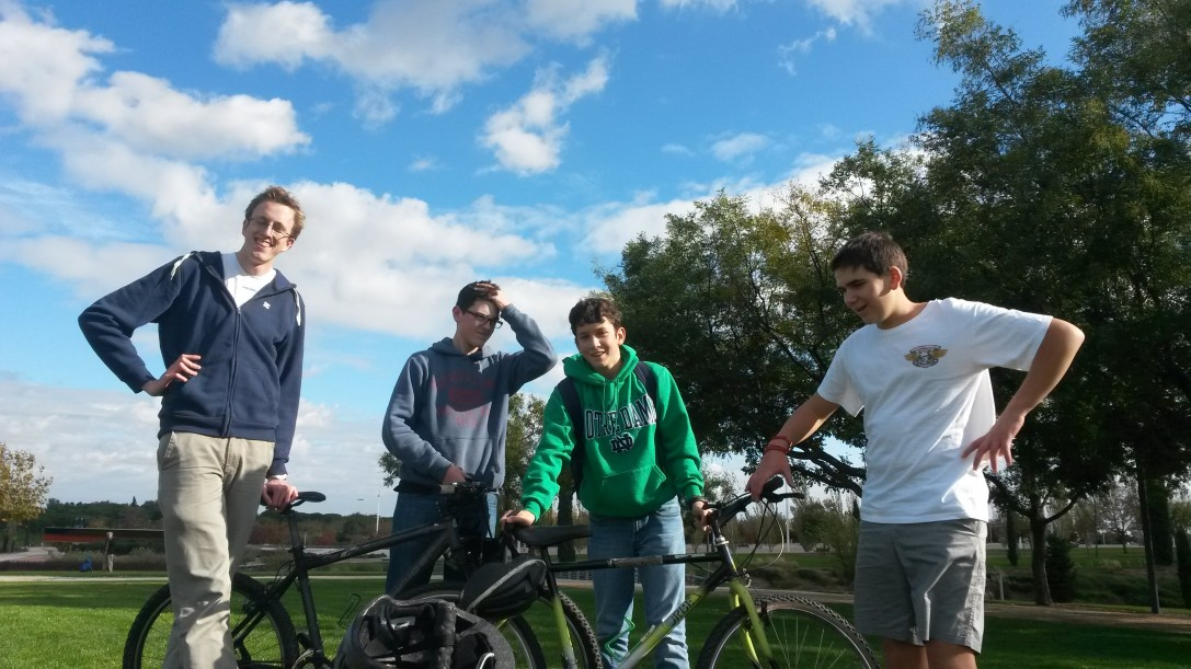 2º de ESO coge la bici
