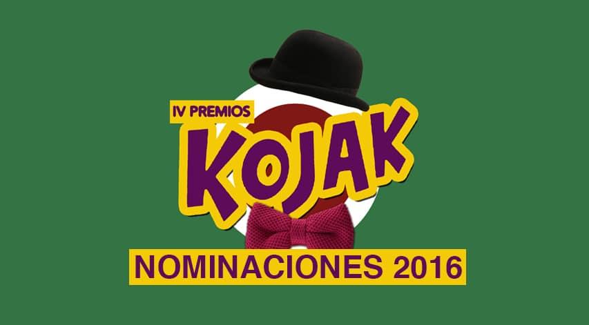 Nominaciones a los Kojak 2016