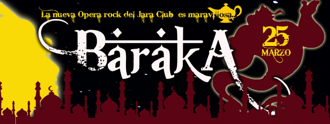 """PAPELES Y DISFRACES DE """"BARAKA"""""""